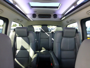 Mercedes Conversion Van Metris Seating