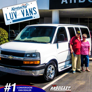 Happy Conversion Van Customers Kentucky