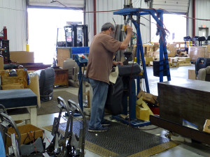The Most Comfortable Seats In Industry Being Assembled