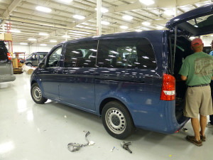 Mercedes Metris Conversion Van Prototype.