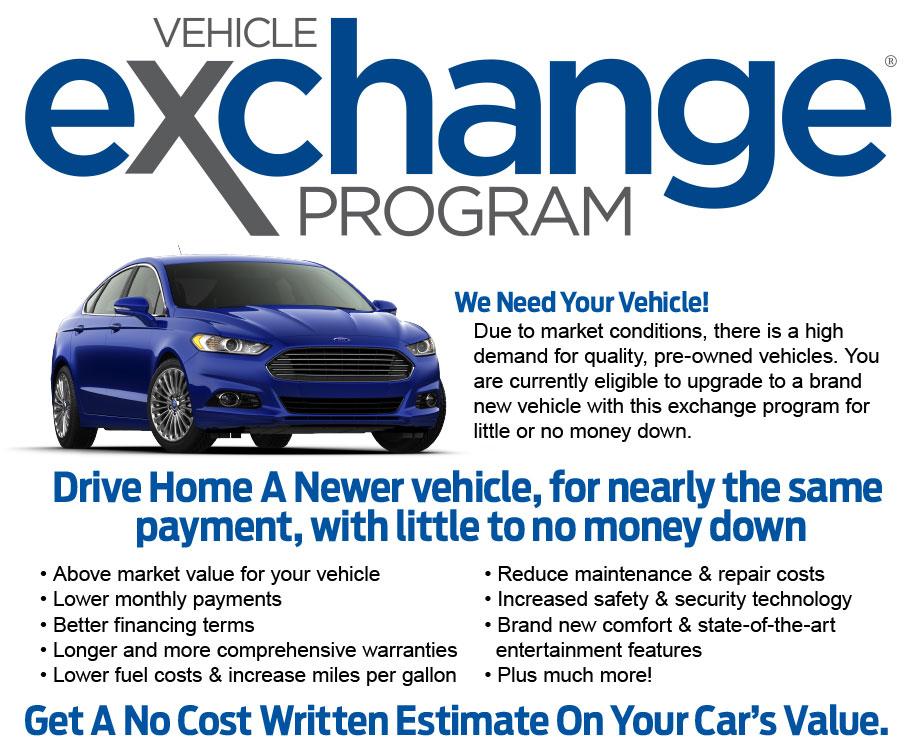Vehicle Exchange Program | David Wilson's Villa Ford