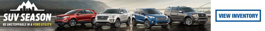 Ford SUV Season Sales Event at Villa Ford