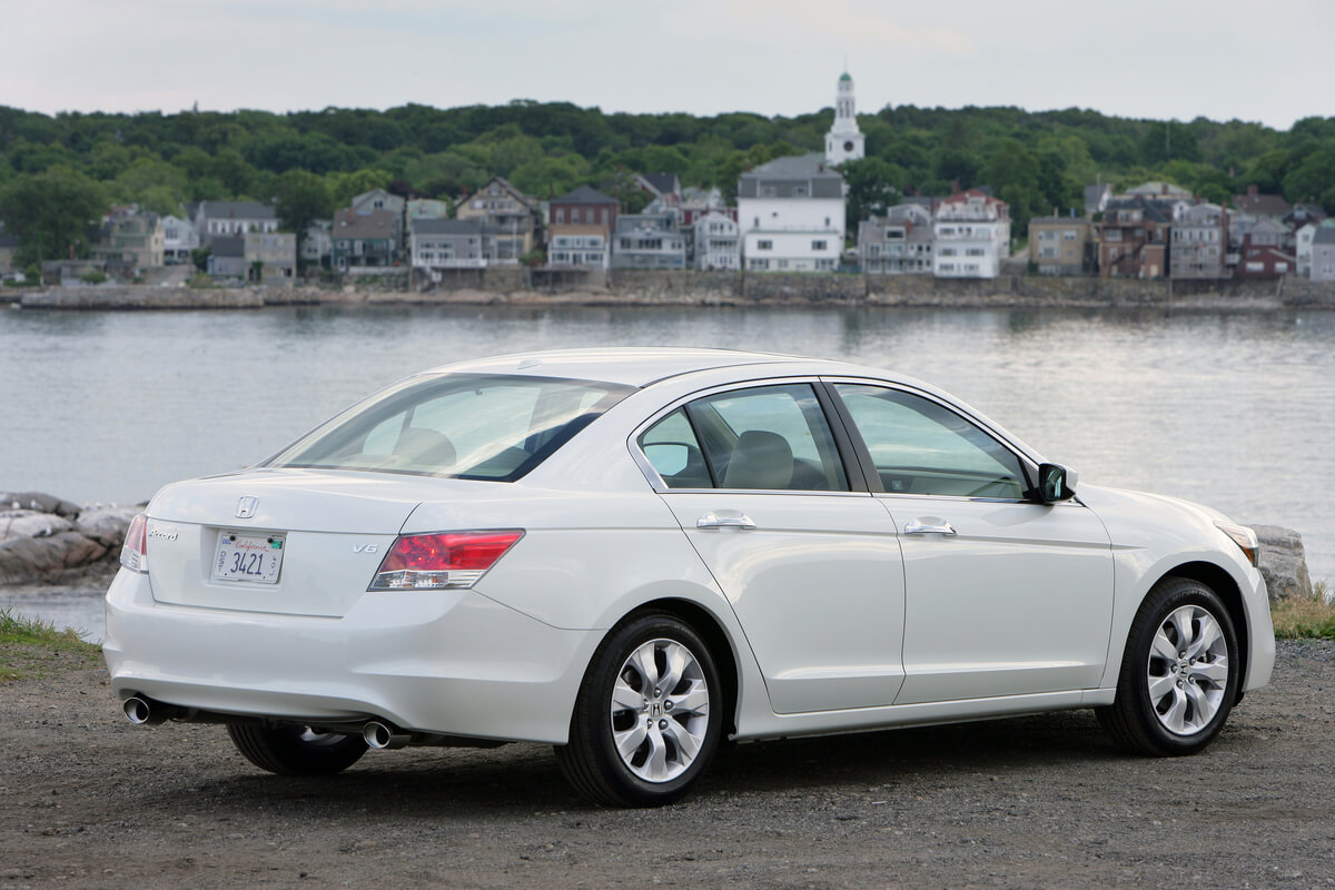 2008 Honda Accord White