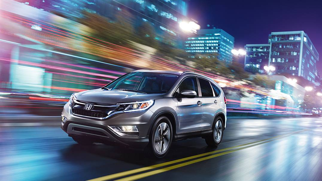 2016 Honda CR-V Driving