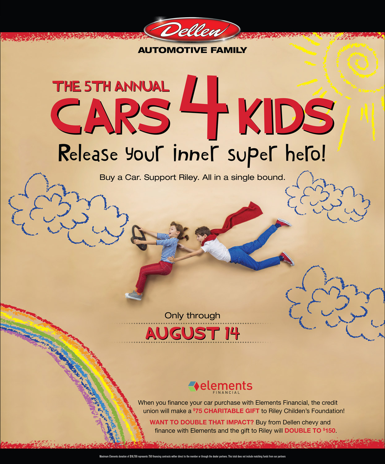 Dellen 5th Annual Cars 4 Kids