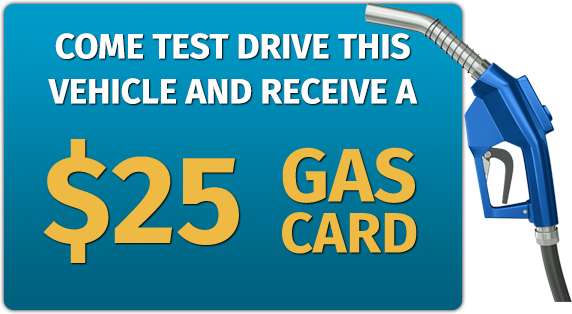 Test Drive For A Free 25 Gas Card