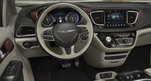 chrysler pacifica interior