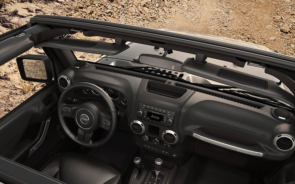 2015 Jeep Wrangler Interior Dash
