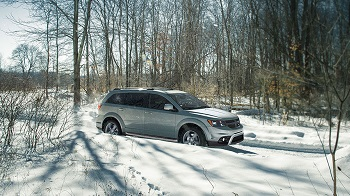 2016 Dodge Journey Gray Side
