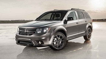 2017 Dodge Journey, Gray