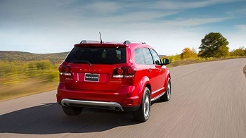2017 Dodge Journey, Red Rear