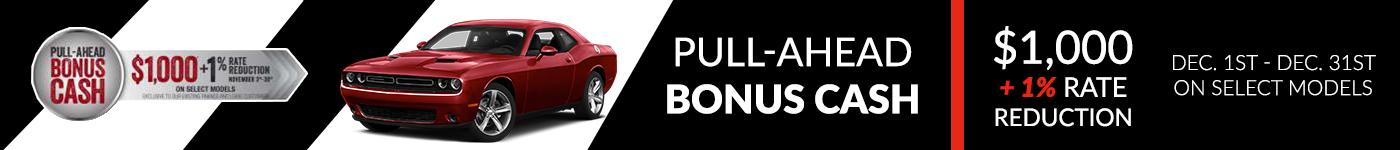 Pull Ahead Bonus Cash