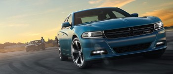2016 Dodge Charger Blue