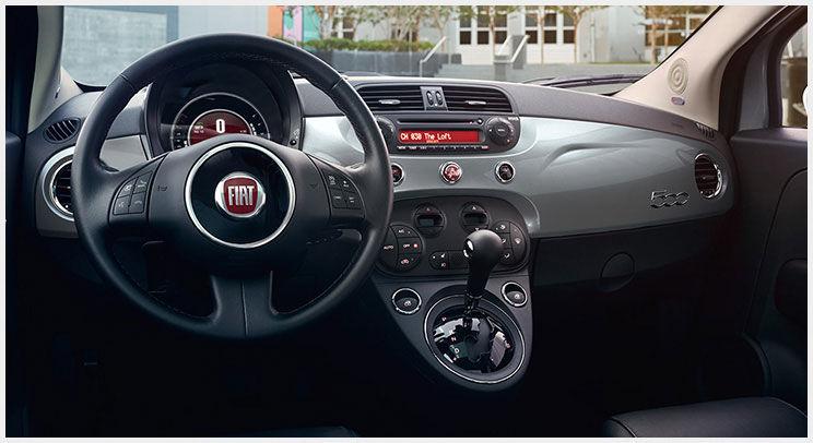 2016 Fiat 500 Dash