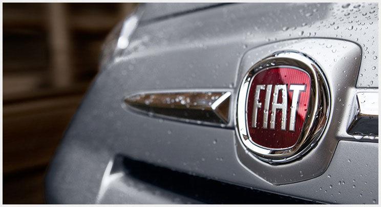 2016 Fiat 500 front fascia