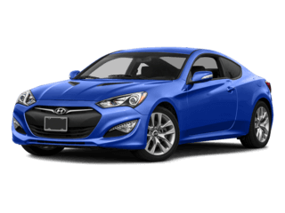 2016 Hyundai Genesis Coupe blue exterior