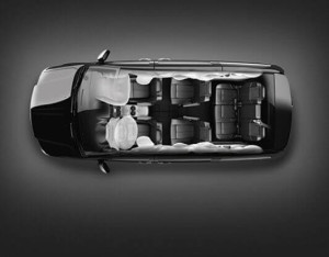 2016 Chrysler Town and Country airbags