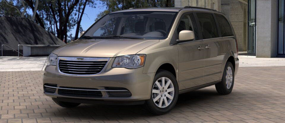 2016 Chrysler Town and Country beige