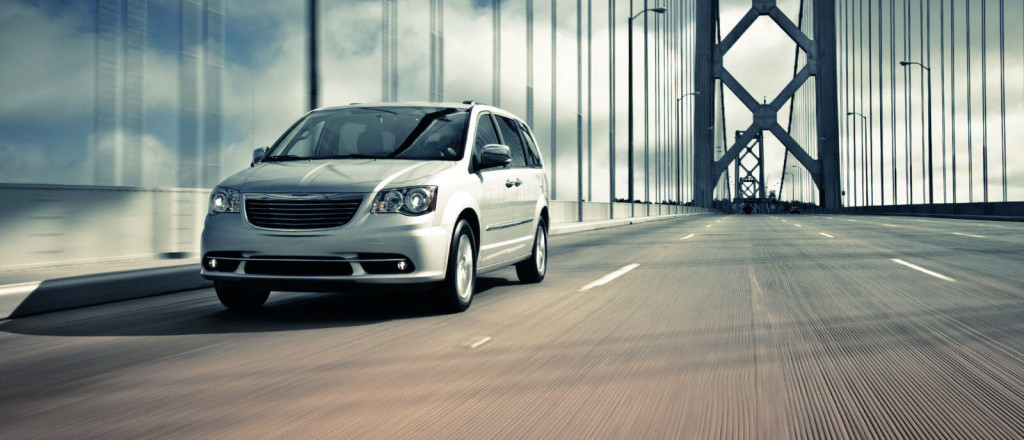 2016 Chrysler Town and Country diriving