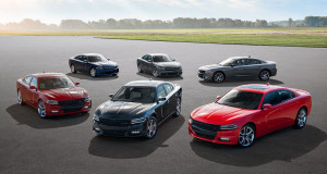 Group of Dodge Chargers