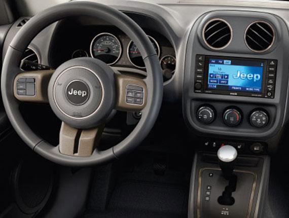 Jeep Interior Specs