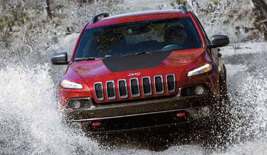 New Jeep Cherokee 2016