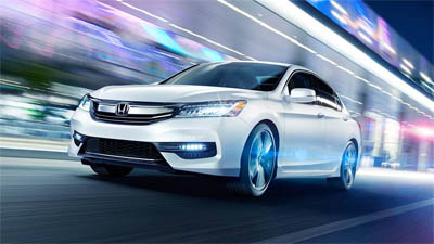 2016 Honda Accord Daytime Running Lamps