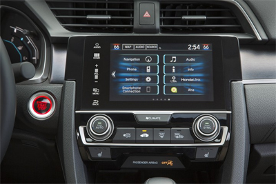 2016 Honda Civic Bluetooth Hands Free