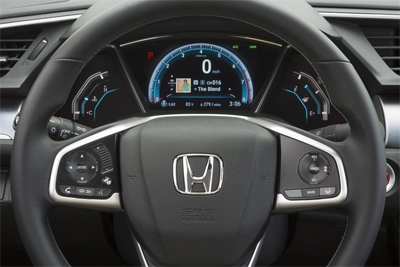 2016 Honda Civic Steer Wheel Mounted Controls