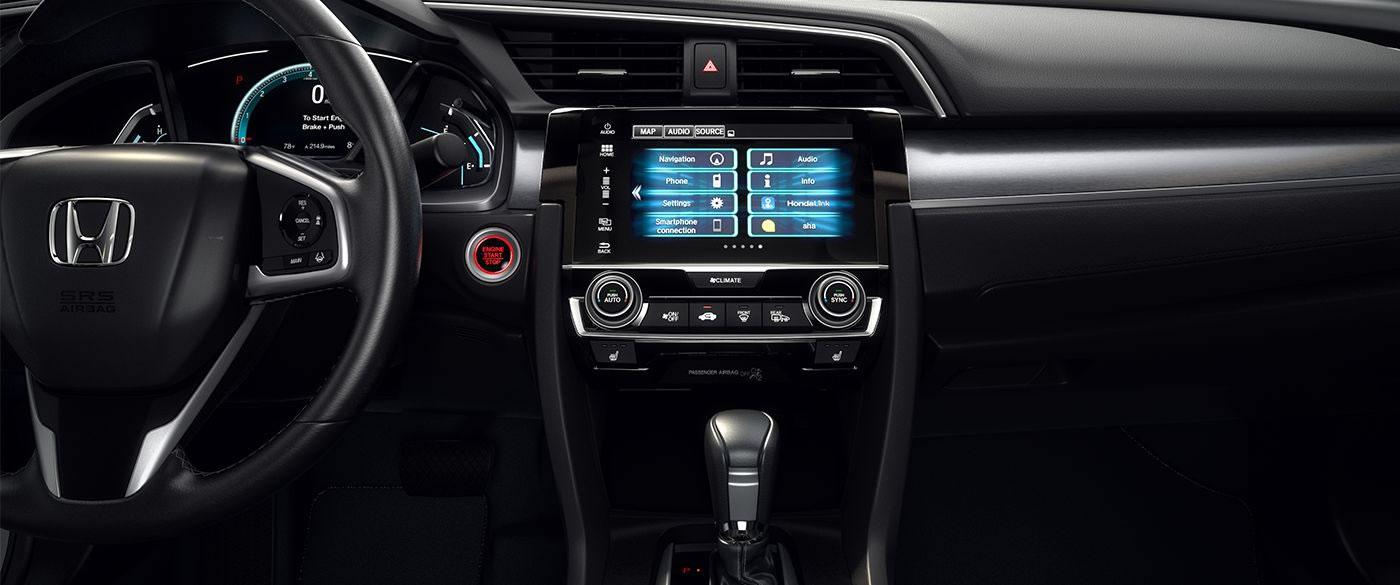Honda Civic Dual Zone Climate Control