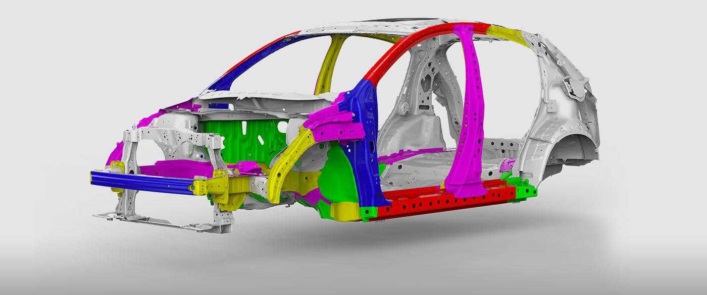 Honda HR-V Body Structure