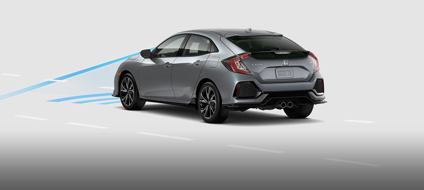 Honda Civic Hatchback Collision Mitigation