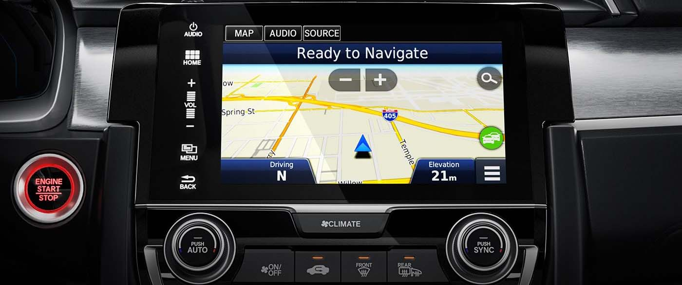 Honda Civic Hatchback Navigation
