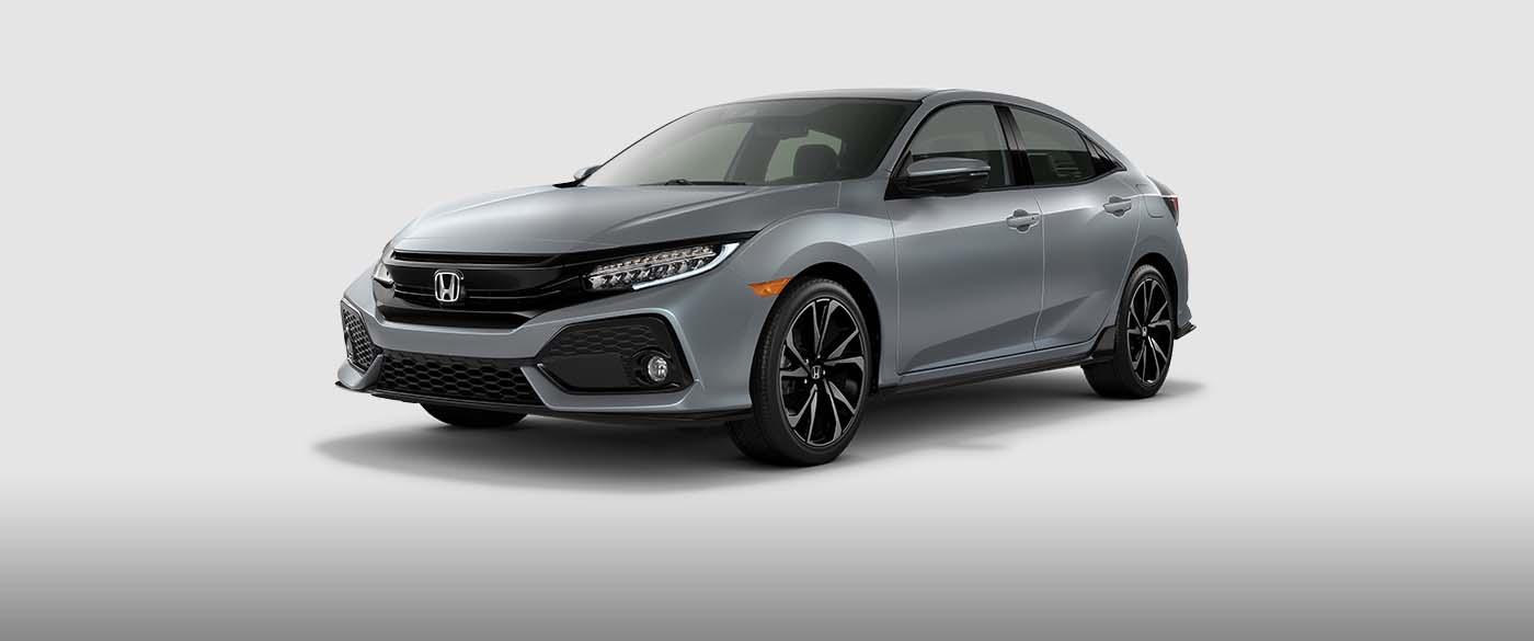 Honda Civic Hatchback Side Front View