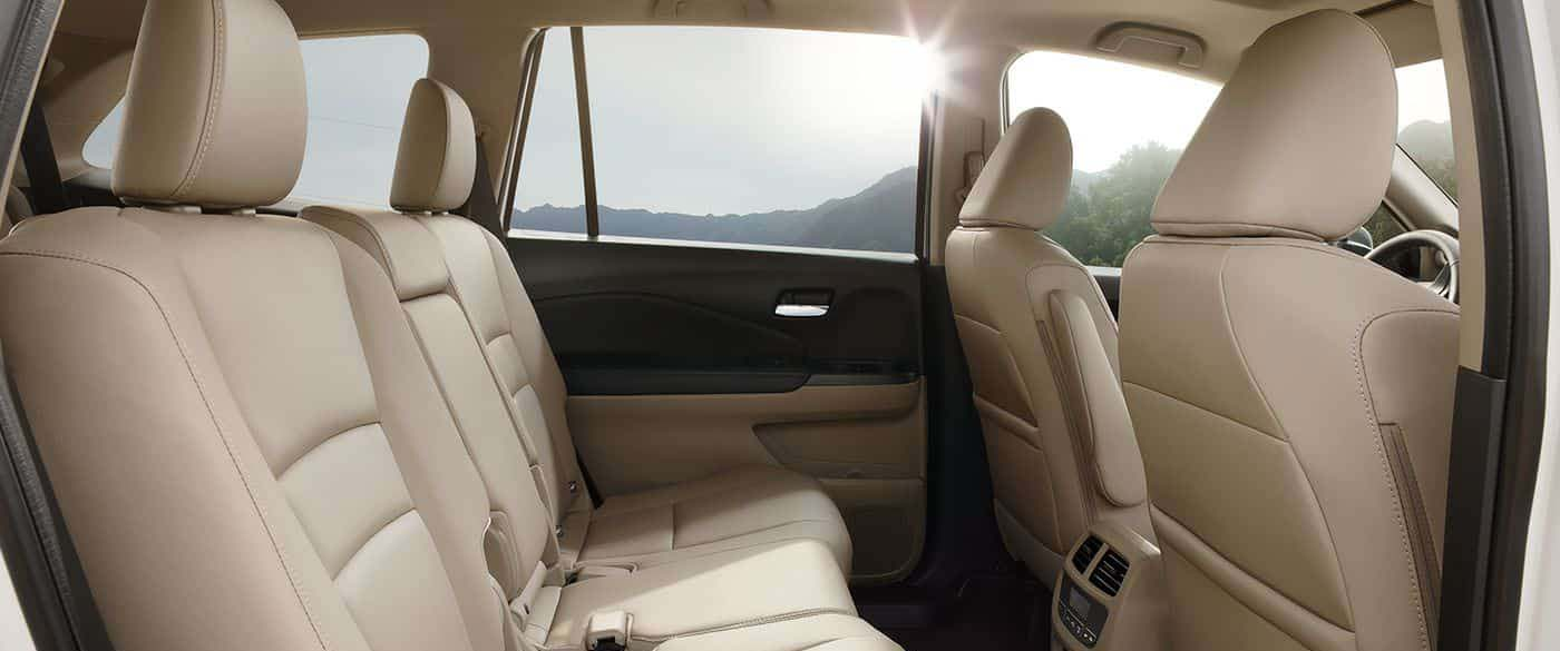 Honda Pilot Leather Seating