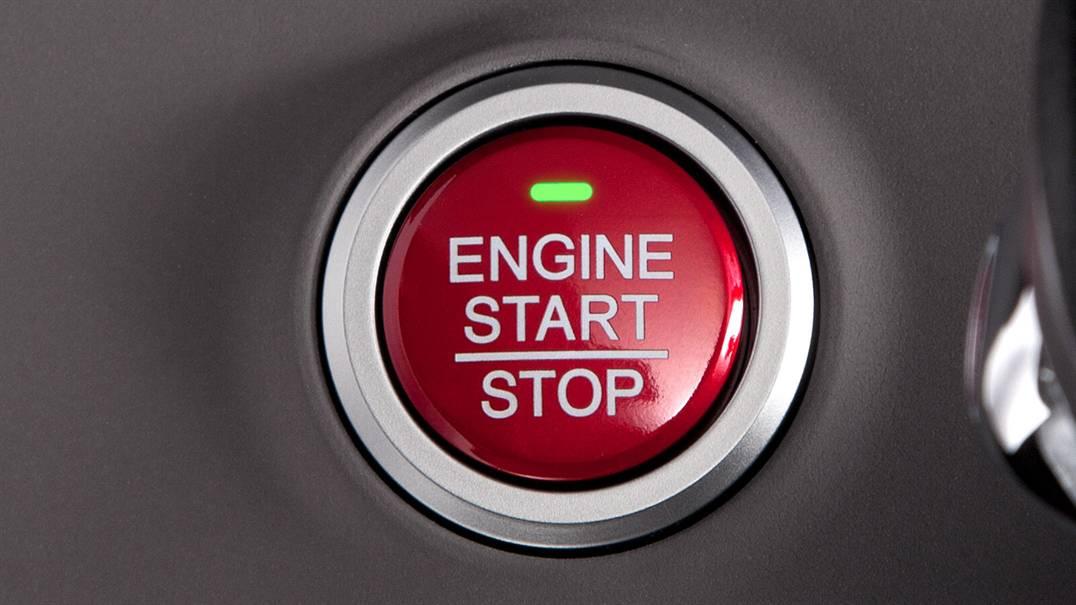 Honda Odyssey push start button
