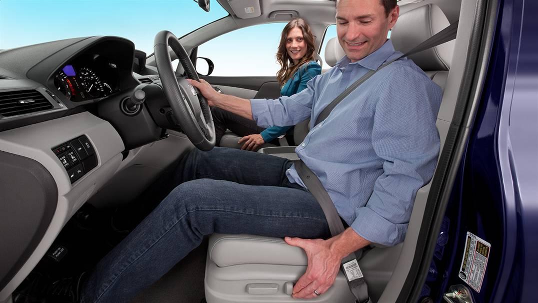2017 Honda Odyssey power drivers seat