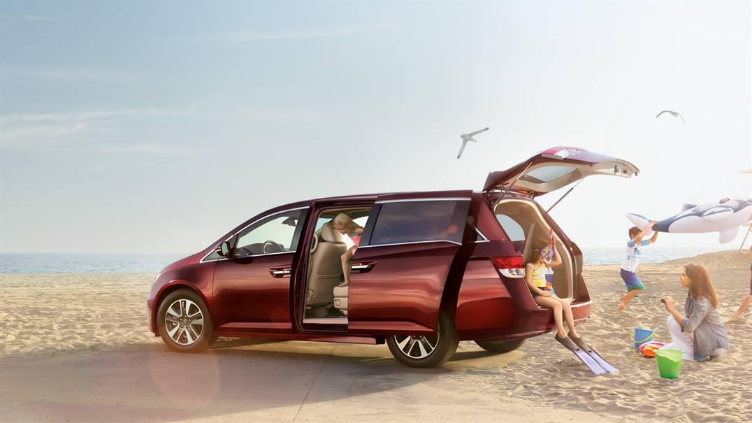2017 Honda Odyssey Power Tailgate