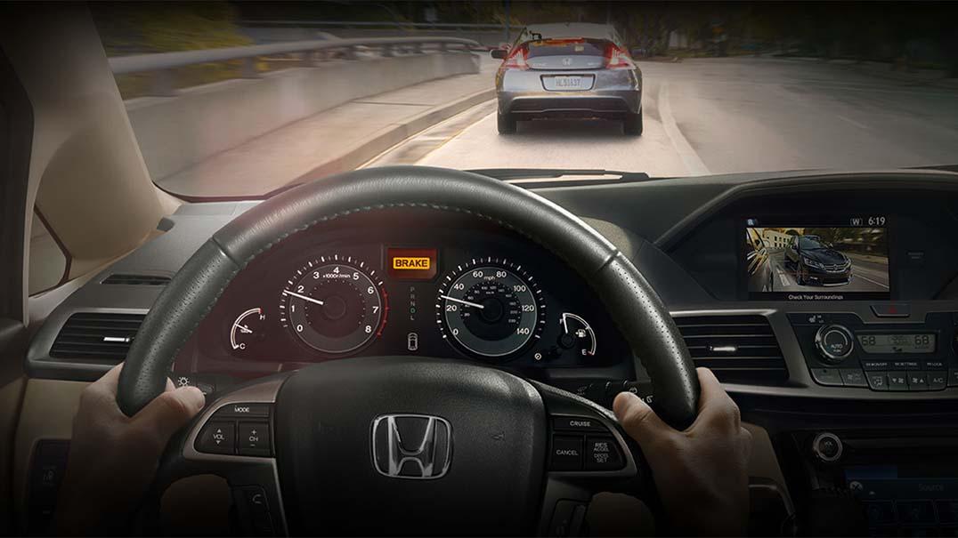 Honda Odyssey Foward Collision Warning