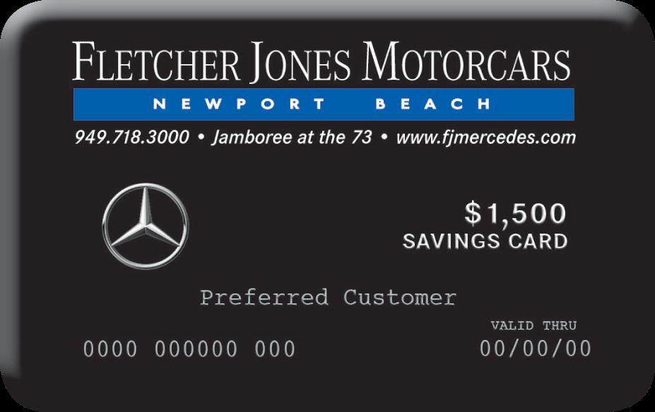 FJM Newport Savings Card