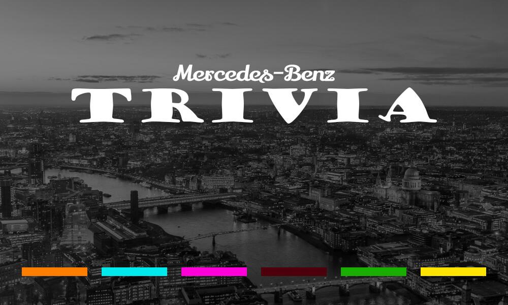 FJ Mercedes Trivia