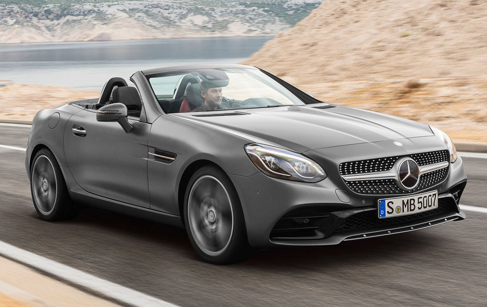 2017 Mercedez-Benz SLC