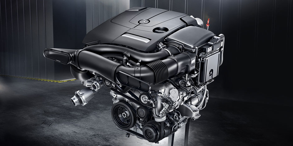 The 2017 C-Class Coupe Engine