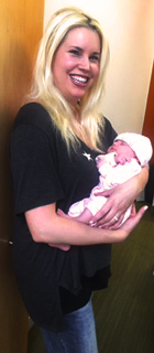 Heather and Baby