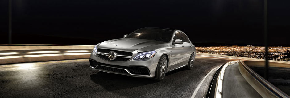 C-Class Driving at night