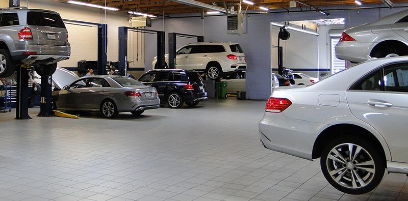 Pre paid service mercedes benz of chicago for Mercedes benz service department