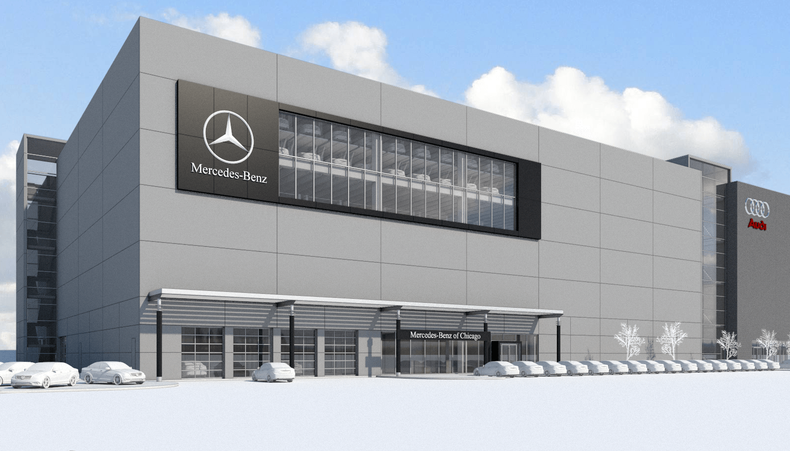 A new era of service mercedes benz of chicago for Mercedes benz parts chicago