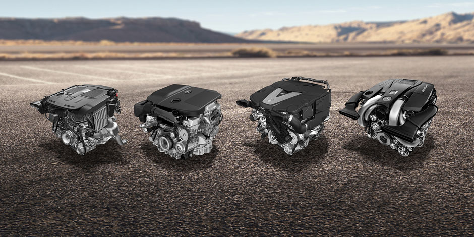 2016 GLE SUV engines