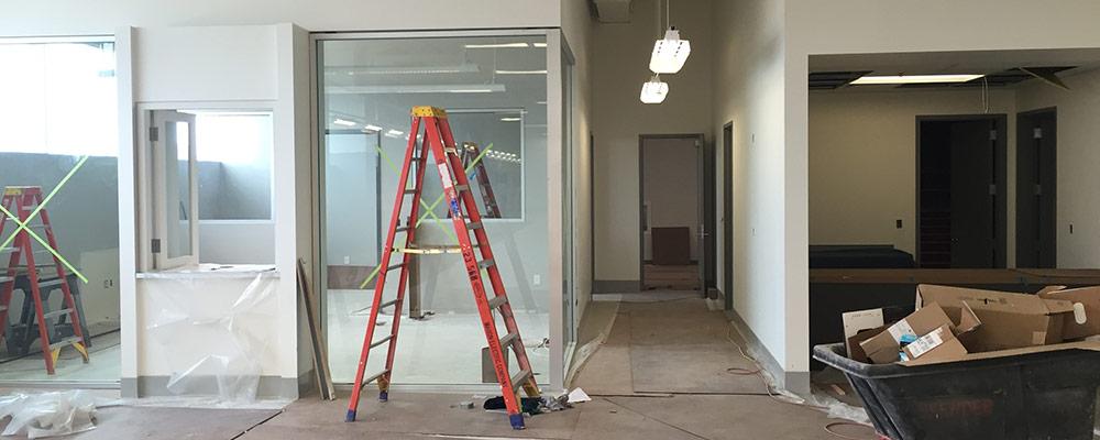 Construction of new facility