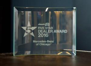 MB Edmunds 5 Star Dealer Award